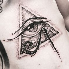 29 Ideas For Eye Tattoo Egyptian Beautiful Eye Of Ra Tattoo, Third Eye Tattoos, All Seeing Eye Tattoo, Leg Tattoos, Body Art Tattoos, Small Tattoos, Sleeve Tattoos, Tattoos For Guys, Egyptian Eye Tattoos