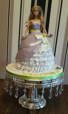 Barbie cake Birthday cake