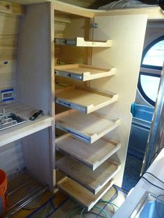 Storage for tiny houses