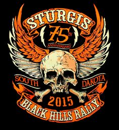 BikerOrNot Store - 2015 Sturgis Rally - Winged Skull Long Sleeve Shirt , $21.97 (http://store.bikerornot.com/2015-sturgis-rally-winged-skull-long-sleeve-shirt/)