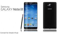 Samsung Galaxy Note III Concept by Deepak Ahuja Photo