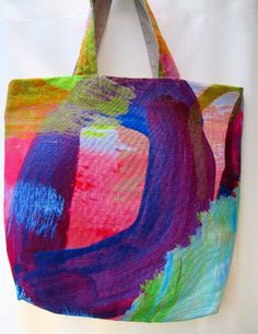 Digitally printed tote bag - Shilo Engelbrecht
