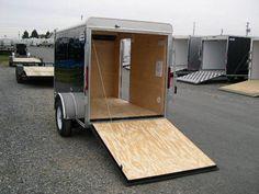 CarMate 'Sportster' 5 x 8 Enclosed Cargo Trailer - 3K Ramp Door