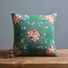 Ikea 45X45cm Vintage Green Floral Pillow Case Cushion Cover Decor Home Creative decorative throw pillows Cover -in Cushion from Home & Garden on Aliexpress.com | Alibaba Group