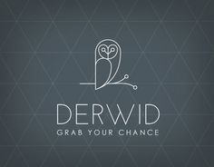 Derwid - Owl concept logo - Designed by marco lucidi