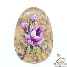 Creative Pendant Hand Painted Flower Natural Necklace ZL803532 #ZL #Pendant