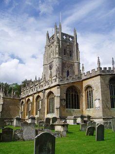 Beautiful church in Fairford
