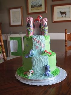 The Cake Stalker: My little pony birthday cake.