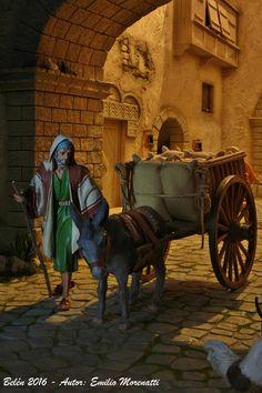 Fotos de los Belenes de Emilio Morenatti Gil. – Como hacemos nuestros Belenes Christmas Nativity Scene, Nativity Scenes, Most Beautiful Pictures, Medieval, Lion Sculpture, Arts And Crafts, Fantasy, Statue, Emilio