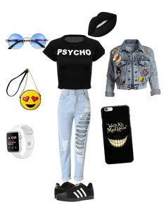 """This is the ootd what I want!🖤 LuziiAnnaOotd"" by diianneootd on Polyvore featuring art"