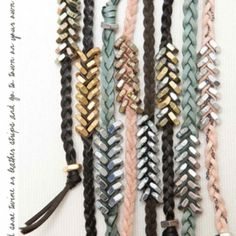 16 Cool DIY Bracelets DIY Projects & Creative Crafts – How To Make Everything Homemade - domina-jewelry. Washer Bracelet, Nut Bracelet, Heart Bracelet, Chevron Bracelet, Bracelet Charms, Baseball Bracelet, Suede Bracelet, Jewelry Crafts, Handmade Jewelry