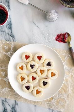Easy roll out sugar cookie recipe to make Linzer cookies