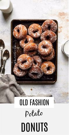 Easy old fashion yeast raised potato donuts with mashed potatoes and cinnamon sugar. |#donuts #oldfashiodonuts #donutsrecipe #yeastraiseddonuts #yeastdonuts #yeastdonutsrecipe #recipe #doughnuts #doughnutsrecipe #easydonutsrecipe #foodphotography #donutsphotography onesarcasticbaker.com| Nut Recipes, Baker Recipes, Fun Baking Recipes, Easy Appetizer Recipes, Pastry Recipes, Sweets Recipes, Healthy Donuts, Delicious Donuts, Delicious Desserts