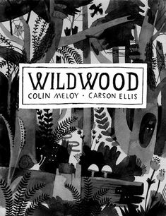 A rejected sketch (!) for the cover of Wildwood. http://www.wildwoodchronicles.com/blog/?p=209