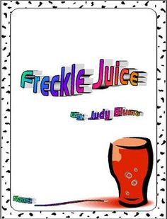 This packet is based off the book, Freckle Juice, by Judy Blume. This is a great packet to use for guided reading groups, literature circles, indiv...