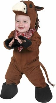 infant horse costume #BabyCostume #HalloweenCostume #Halloween2014