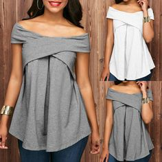 Bethany Off The Shoulder Criss-Cross Top