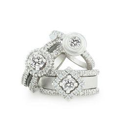 Jenna Clifford Designs | Bridal › Engagement Rings Pretty Rings, Rings Cool, Beautiful Rings, Diamond Rings, Diamond Jewelry, Gemstone Jewelry, Jewelry Rings, Gemstone Engagement Rings, Jewelry Design