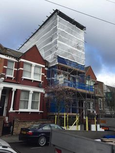 Residential scaffolding - Residential scaffold contractors - B&J