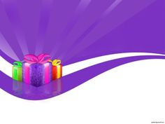 Christmas Gift PPT Backgrounds