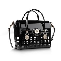 Petite beauty. Find more from the #VersaceSignature bag family here: http://goo.gl/aA6kS8 #Versace