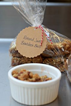Breakfast bars at the January 2016 Chicago Food Swap