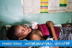 UNICEF jest na miejscu i niesie pomoc. Wyposażamy szpitale i ośrodki zdrowia. Możesz pomóc na https://www.unicef.pl/afryka.