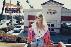 Wildfox, in-n-out, and cool pictures. Love.