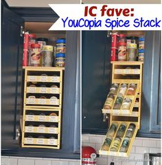 Kitchen Gadgets | Check out this awesome kitchen storage solution for your spices!