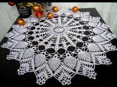 Como tejer Tapete, Carpeta redondo a crochet tutorial DIY - YouTube