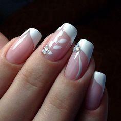 Simple White Nail Designs Nadyana Fashion Magazine Pinterest
