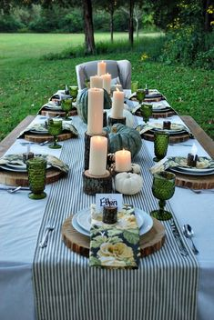White Buffalo Styling Co | Fall Tablescape | AE Outdoor