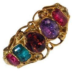 """Antique """"Regard"""" Ring"""