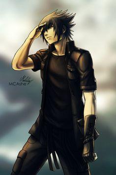 Noctis Lucis Caelum from Final Fantasy XV! Noctis And Luna, Noctis Lucis Caelum, Fantasy Pictures, Final Fantasy Xv, Sasuke Uchiha, Me Me Me Anime, Best Games, Boruto, Character Inspiration