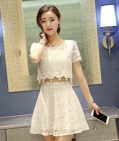 Dress-Brokat-Pendek-Cantik-untuk-Pesta-Model-Terbaru-A3001 2 cdb6ba4048