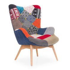 Online Shop of designer furniture Custom Furniture, Furniture Design, Red Brolly, Patchwork Chair, Outdoor Chairs, Outdoor Furniture, Retro Sofa, Deco Boheme, Classic Sofa