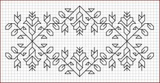 Gallery For > Blackwork Embroidery Border