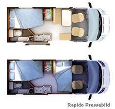 Das Wohnmobil Rapido Van 56 für Paare