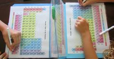 She called it a periodic table battleship version of the Battleship game. Teaching Chemistry will never be this easy and fun for kids if not done this way. Kid Science, 7th Grade Science, Middle School Science, Physical Science, Science Classroom, Science Lessons, Science Education, Science Activities, Science Projects
