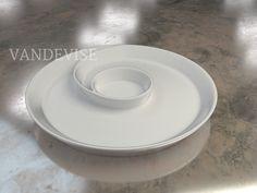 Model 2060_002 - #VandeviseGoesLive #Spiral #MainDish #HomeDecor  Available in: #Ceramic #Plastic #3DPrinting