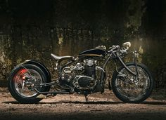 A BMW R nineT cafe racer from Italy, a Dakar-worthy Honda scrambler from England, and a Yamaha bobber from Bulgaria. Xs650 Bobber, Bobber Bikes, Yamaha Motorcycles, Bobber Motorcycle, Motorcycle Garage, Motorcycle Style, Motorcycle Humor, Bobber Chopper, Custom Choppers