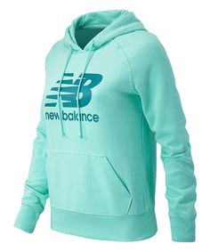 Another great find on #zulily! New Balance Mint Lifestyle Hoodie - Plus Too by New Balance #zulilyfinds