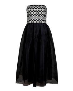 Full skirt dress - Black | Dresses for Proms | Ted Baker ROW