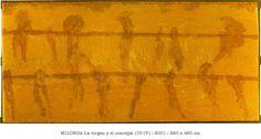 Antón Lamazares •Pintura • Novas de San Martiño. Milongas, 2001