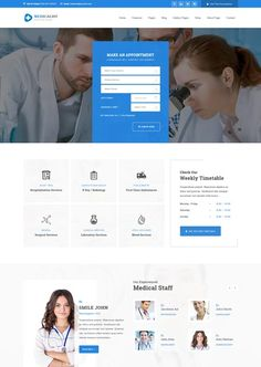 Medicalguideclassicclinincwebsitetemplate Websites Referances - Medical website templates