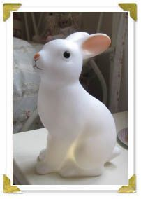 NATTLAMPA. woodland rabbit night light