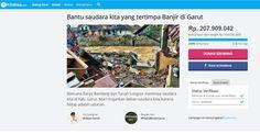 Dalam 24 Jam Ridwan Kamil Berhasil Galang 200 Juta Rupiah Sumbangan untuk Banjir Garut  Islamedia  Walikota Bandung Ridwan berhasil menggalang dana mencapai ratusan Juta rupiah untuk bantuan banjir bandang Garut dalam waktu kurang dari 24 jam.  Ridwan Kamil yang membuat halaman galang dana online di kitabisa.com dengan tautan http://ift.tt/2cToeZi. Melalui akun instagramnya @ridwankamil dan Page Facebook pribadinya Ridwan Kamil mengajak netizen udunan meringankan beban saudara kita di Garut…