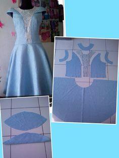 Dress pattern Pattern Draping, Gown Pattern, Clothing Patterns, Sewing Patterns, T Shirt Sewing Pattern, Burgundy Evening Dress, Dress Anak, Dress Making Patterns, Dress Cuts