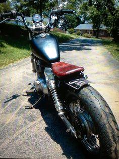 '86 Honda Rebel bobber by  JD Coursey
