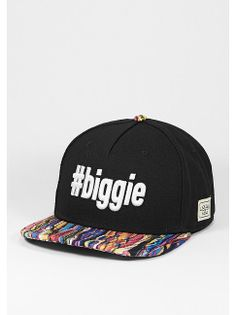 Cayler & Sons Snapback-Cap #biggie black/mc/white für 29,99 Euro. Artikelnummer: 7006452  #caylerandsons #snipescom #streetwear #headwear #caps